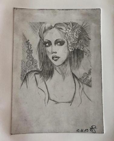 etching / kupferstich