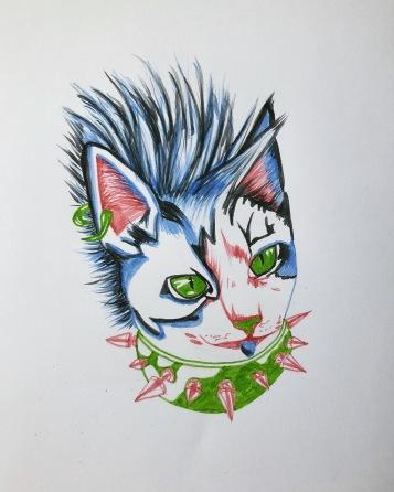 punkcat bluetongue